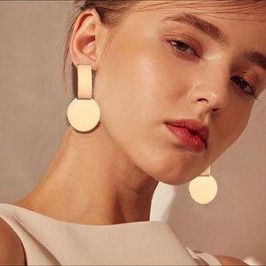 Geometric women's earring